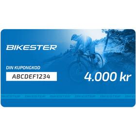 Bikester Presentkort 4000 kr